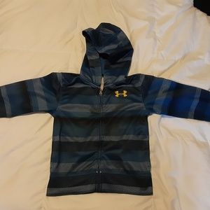 Under Armour boy's zip up hoodie